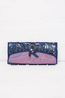 Accessory bag with hook, Blue, hi-res