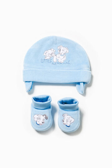 One Hundred and One Dalmatians hat and shoes set, Light Blue, hi-res