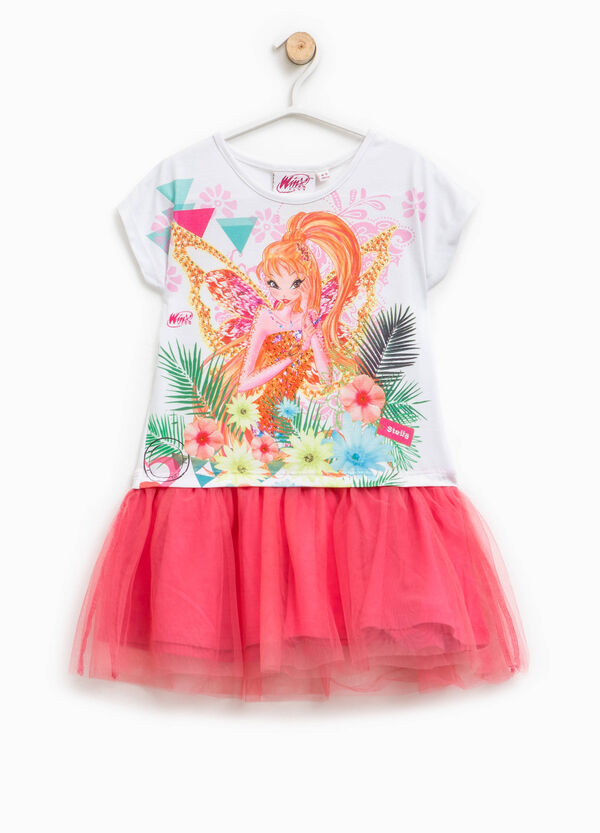 Dress in tulle with Winx print | OVS