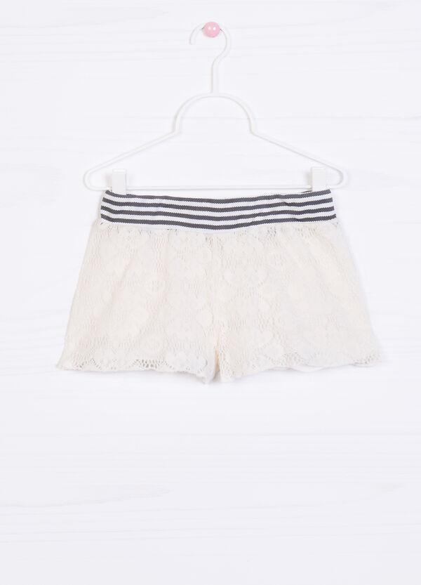 Shorts puro cotone fantasia righe | OVS