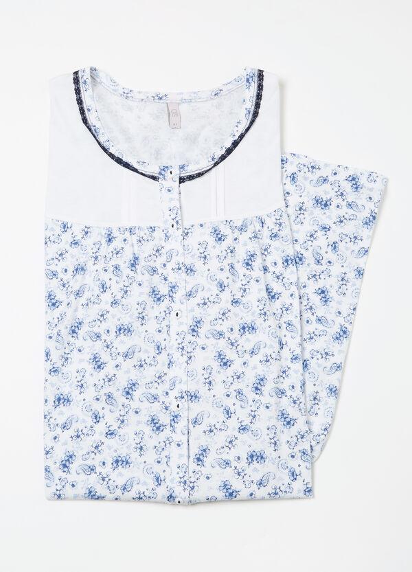 Camicia da notte cotone Curvy | OVS