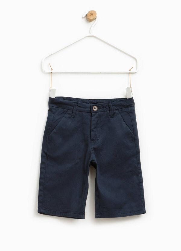Pure cotton Bermuda shorts | OVS