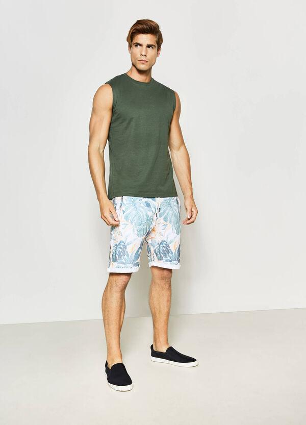 G&H floral patterned Bermuda shorts | OVS