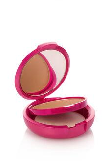 Fondotinta compatto effetto polvere. Coprente come una crema, setoso come una polvere e pratico come un compatto. Con specchietto e spugnetta., Light Brown, hi-res
