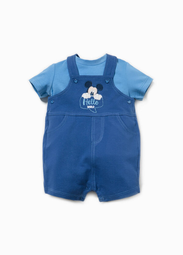 Mickey Mouse T-shirt and onesie set | OVS