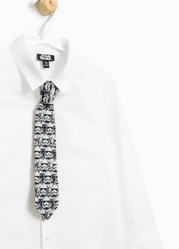 Shirt with Star Wars tie | OVS