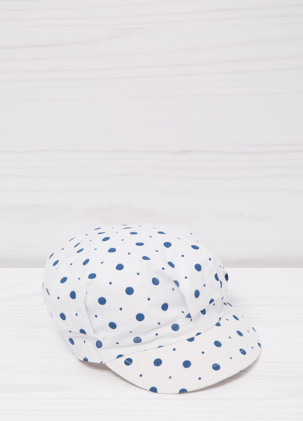 Polka dot baseball cap   OVS