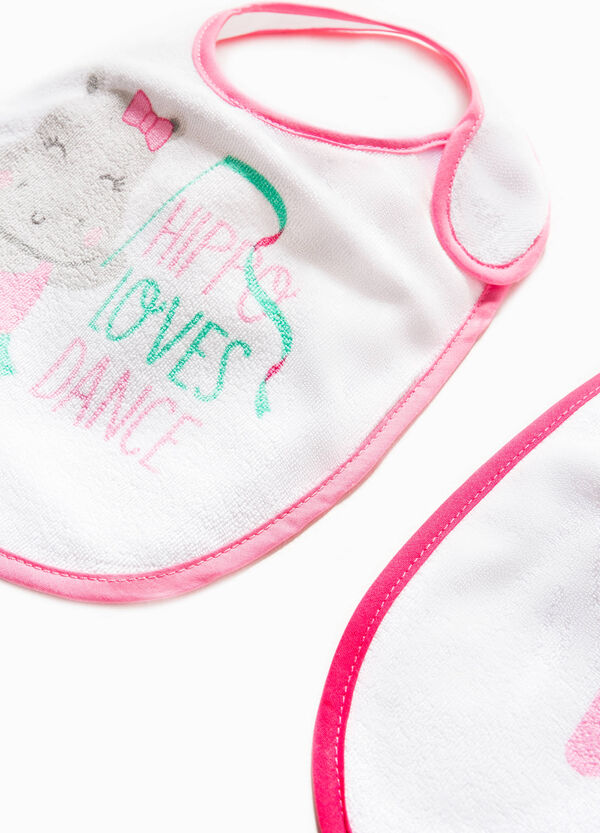 Two-pack printed bibs | OVS