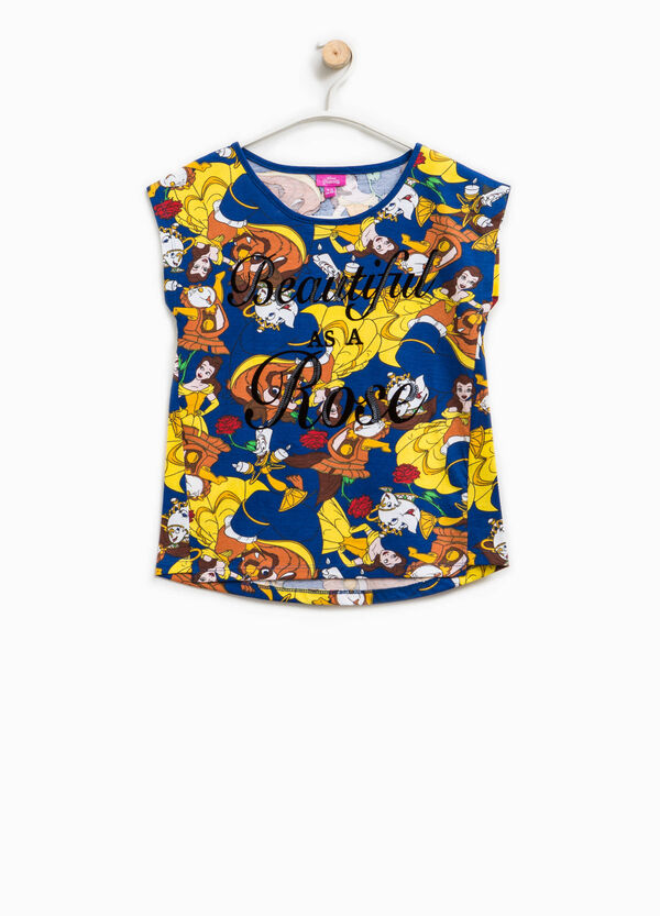 Beauty and the Beast print T-shirt | OVS