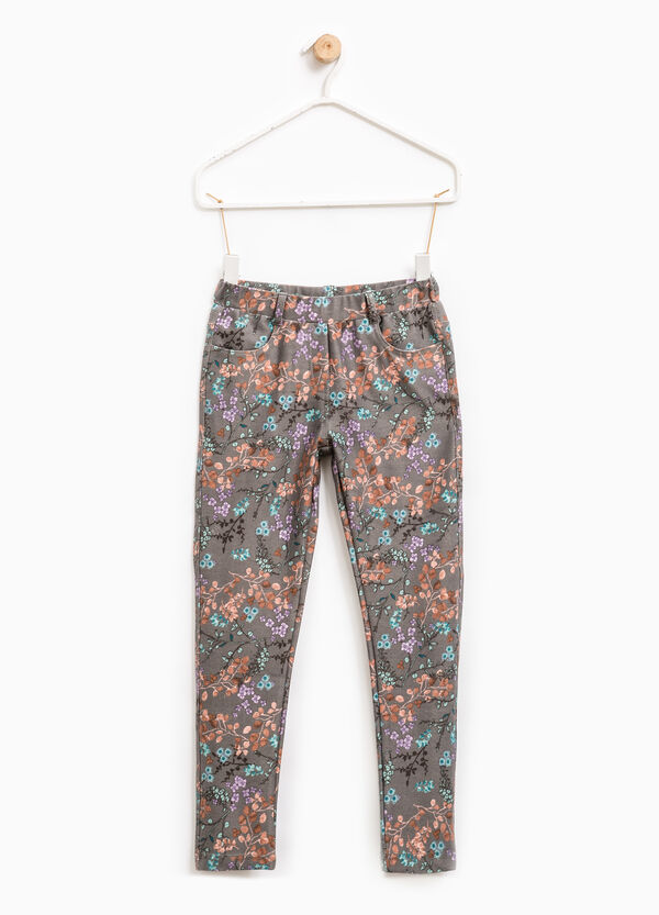 Stretch floral trousers | OVS