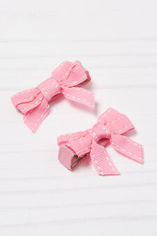 Two-pack hair clips, Pink, hi-res