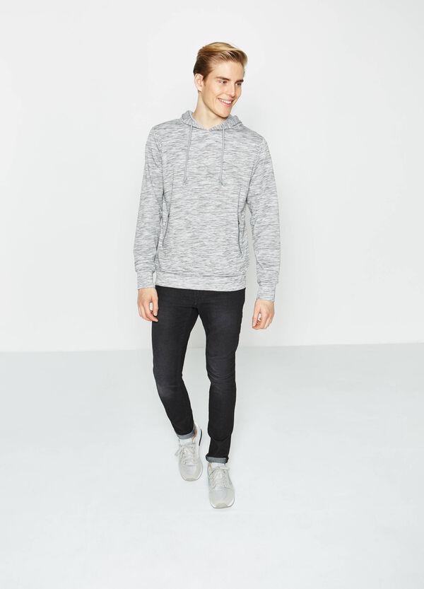 Cotton blend mélange sweatshirt | OVS