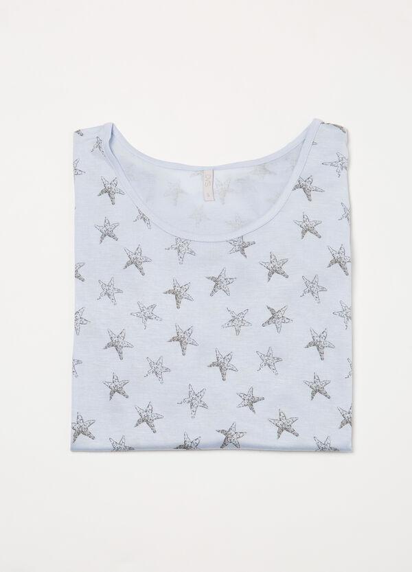 Maglia pigiama viscosa stampata | OVS