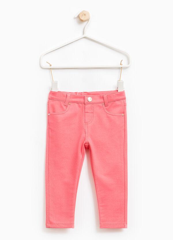 Pantalón en mezcla de algodón elástico | OVS