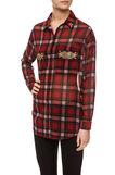 Camicia tartan, Black/Red, hi-res