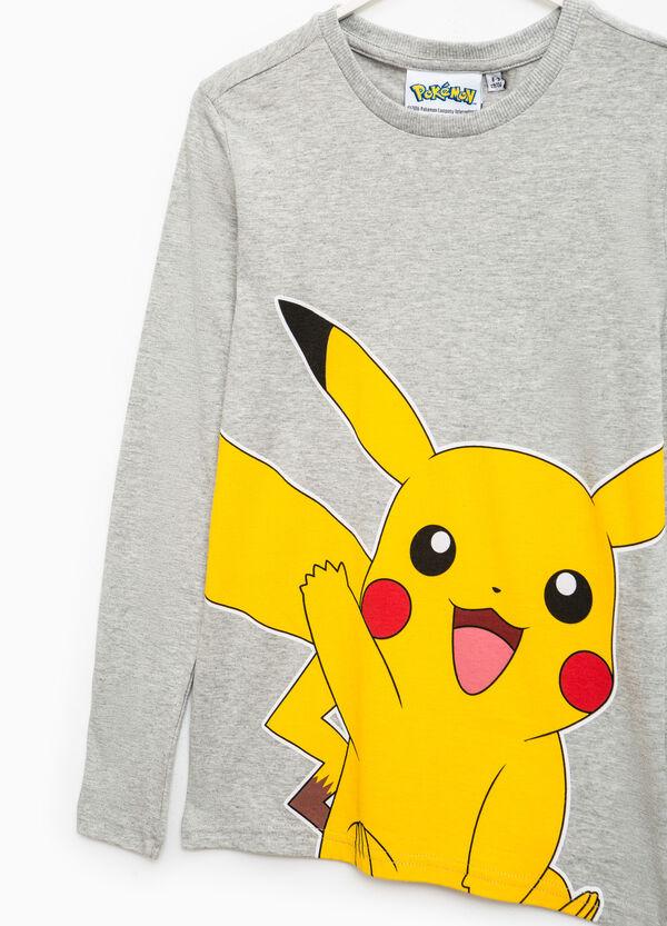 Pikachu print cotton T-shirt | OVS