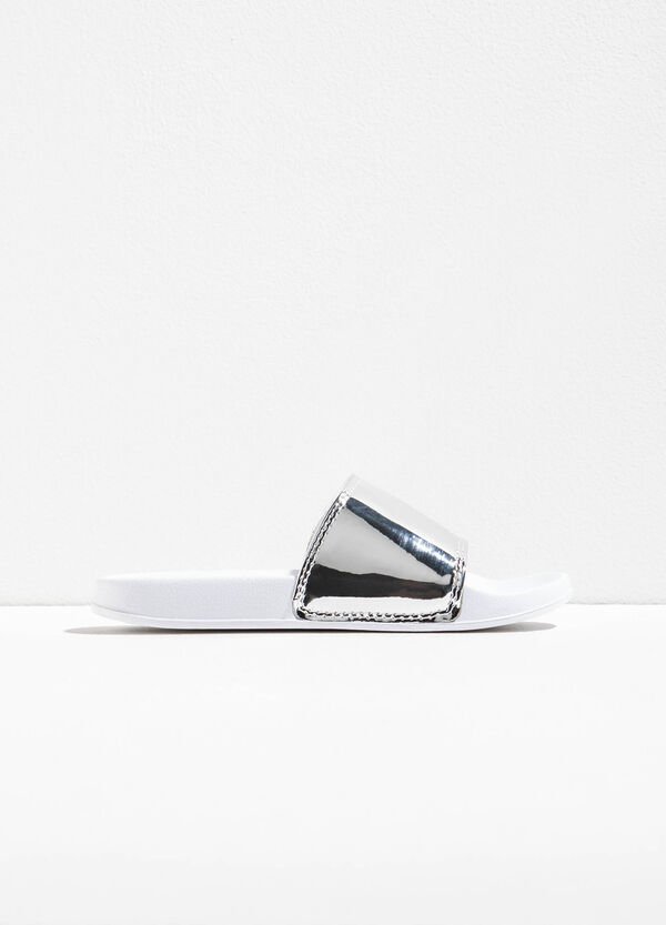 Zapatillas de casa con tira brillante | OVS