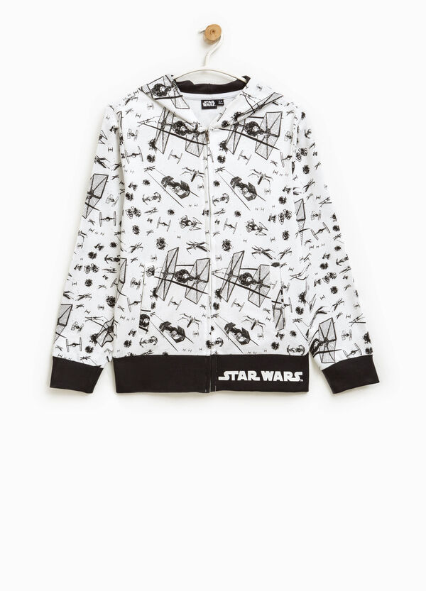 Hoodie with all-over Star Wars print | OVS