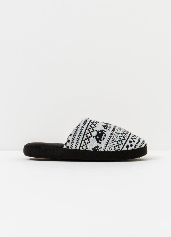 Printed slippers | OVS