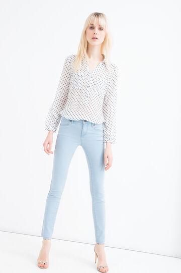 Slim-fit stretch jeans, Soft Blue, hi-res