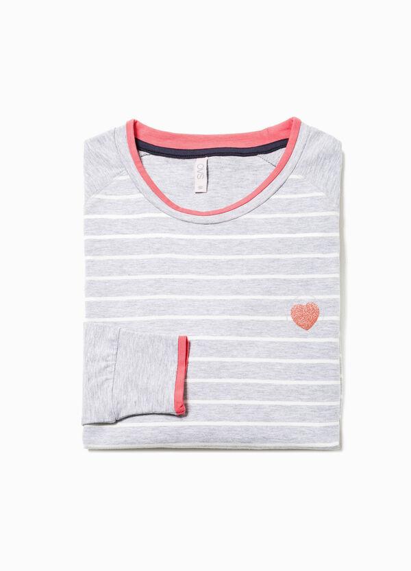 Camiseta de pijama de rayas | OVS