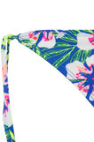 Stretch briefs with pattern and ties, Blue/Yellow, hi-res