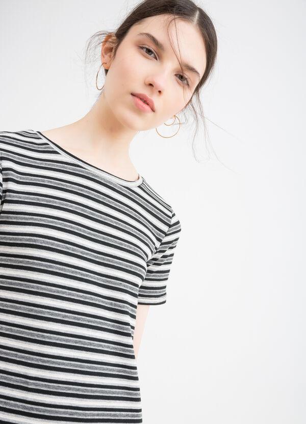 Short stretch striped dress   OVS