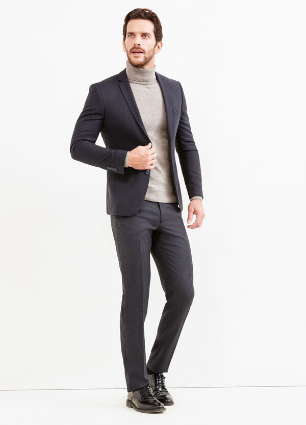 Custom-fit, two-button blazer | OVS
