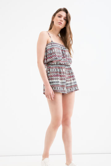 Playsuit with print by Maui and Sons, Green, hi-res