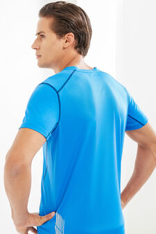 OVS Active Sport Training T-shirt, Azure, hi-res
