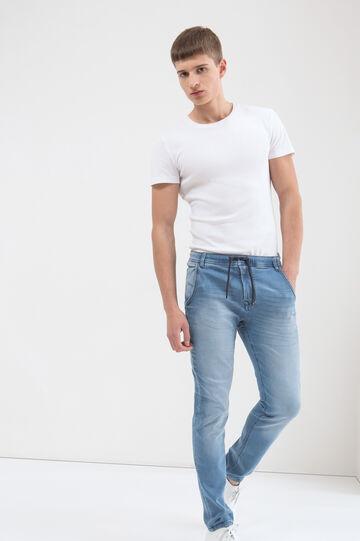 Jeans loose fit stretch, Lavaggio chiaro, hi-res
