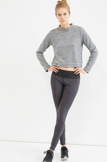 OVS Active Sport Training leggings, Black/Grey, hi-res