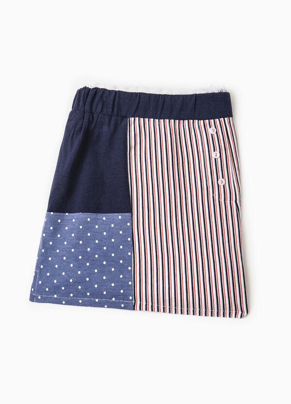 Pyjama shorts with polka dot and striped pattern | OVS