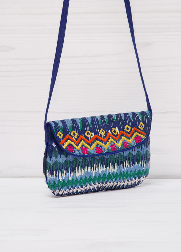 Patterned cotton shoulder bag   OVS