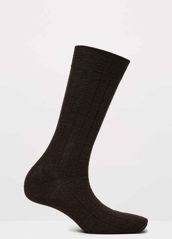 Ribbed socks in cotton blend | OVS