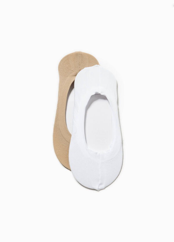 Set due paia di calze salvapiedi   OVS