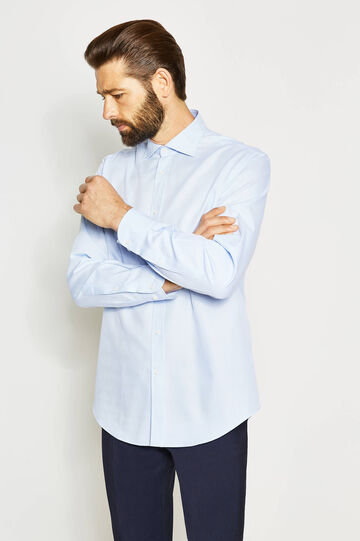 Camisa formal regular fit de algodón
