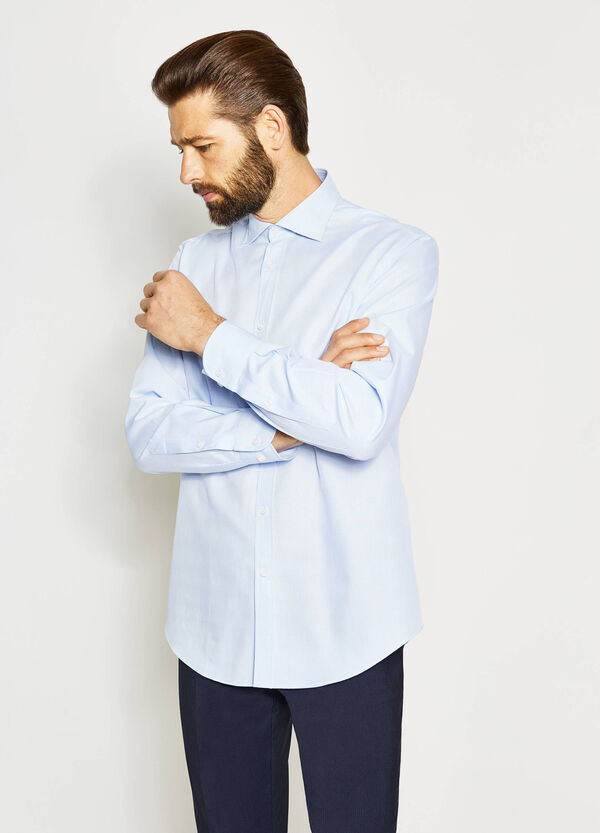 Regular-fit formal cotton shirt | OVS