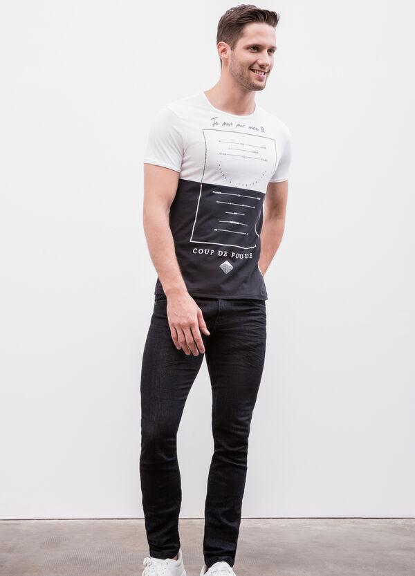 Maxi print cotton T-shirt | OVS