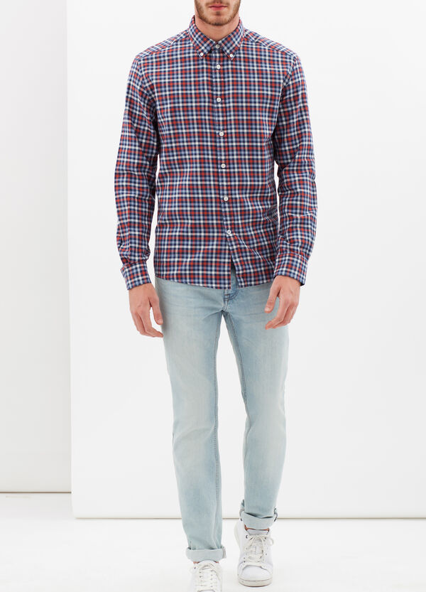 Regular-fit tartan shirt | OVS