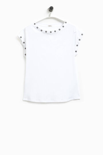 Smart Basic T-shirt with eyelets