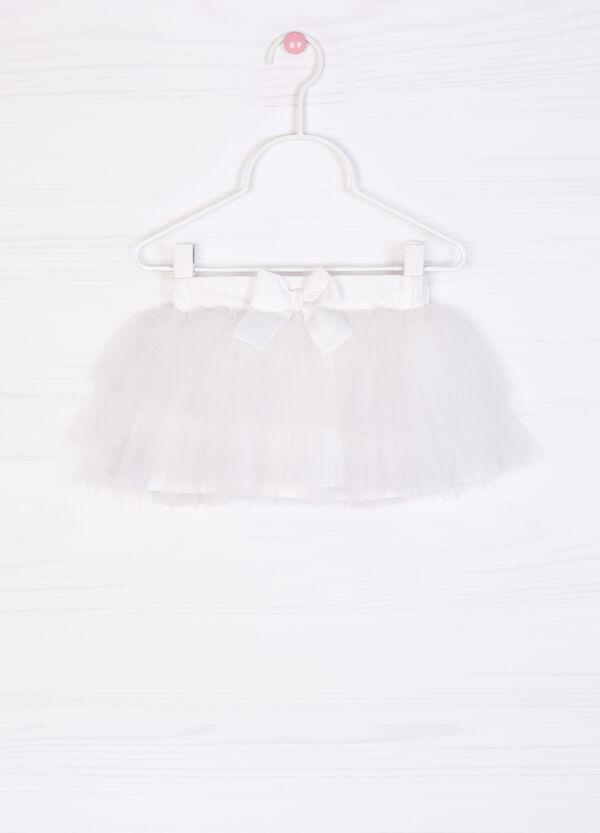 Flounced skirt in tulle   OVS