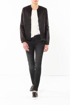 Reversible jacket, Black, hi-res