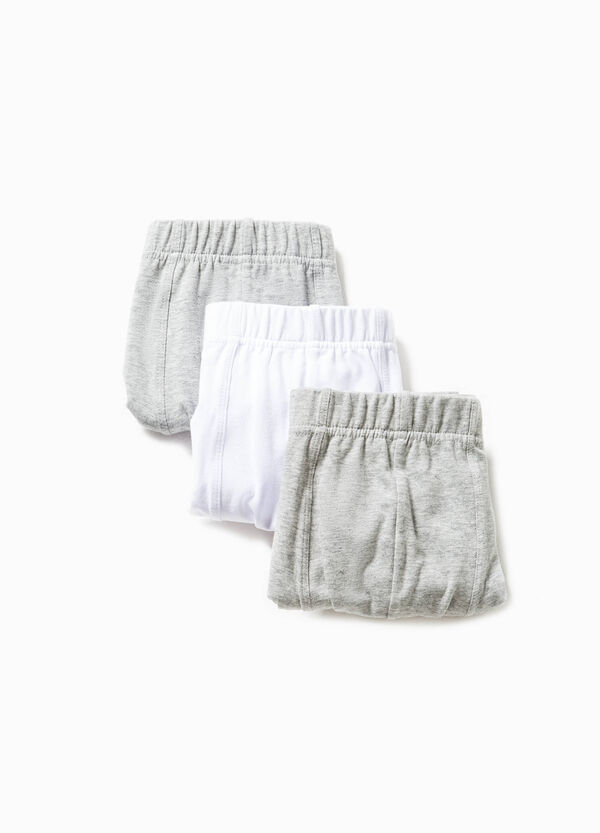 Set tre boxer in cotone stretch | OVS