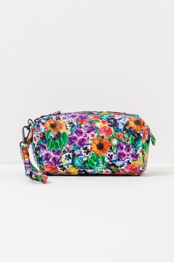 Floral pattern clutch bag, Multicolour, hi-res