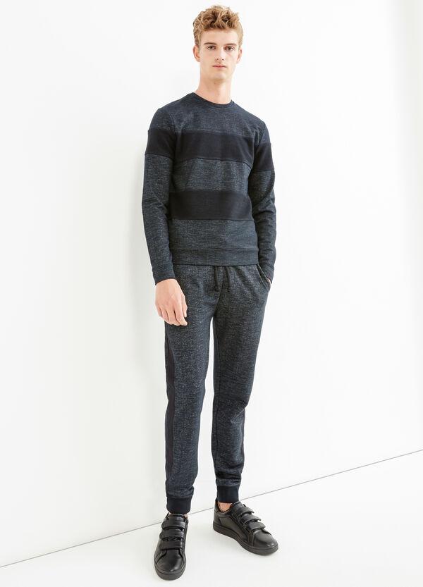 Jersey de rayas en algodón 100% | OVS