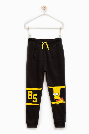 Pantaloni con stampa The Simpsons