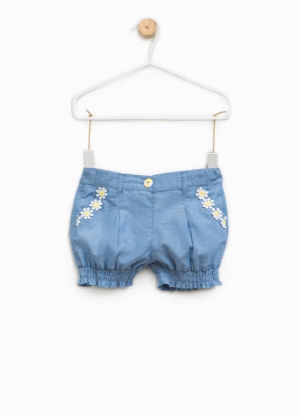 Shorts vaqueros con flores | OVS