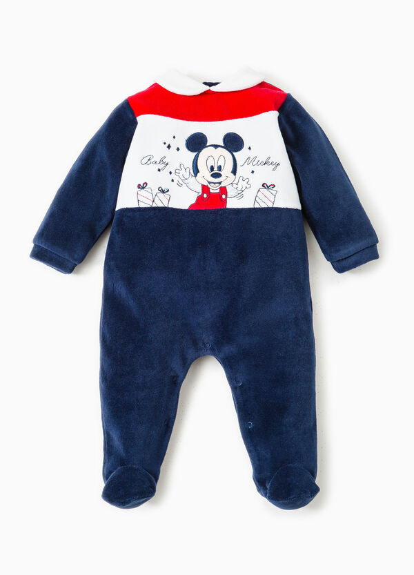 Onesie with Baby Mickey Mouse patch | OVS