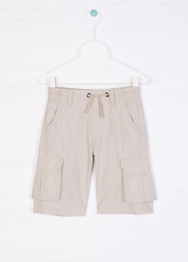 Bermuda shorts in 100% cotton | OVS